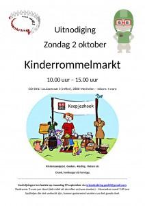 Kinderrommelmarkt Vriendenkring Louizastraat @ GO SHIL! | Mechelen | Vlaanderen | Belgium