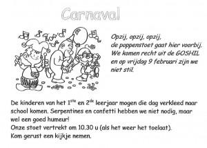Carnavalstoet 1ste Graad