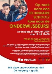 Onderwijsbeurs secundair onderwijs @ Mechelen | Vlaanderen | Belgium